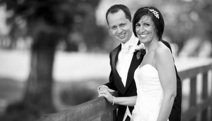 Wedding Photograph Bride and Groom in Surrey