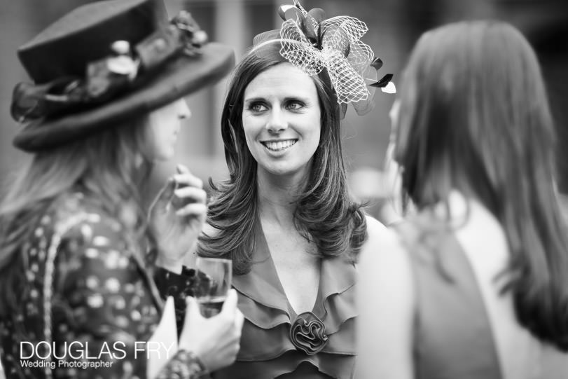 Wedding Photograph Guest at Fulham Palace, London