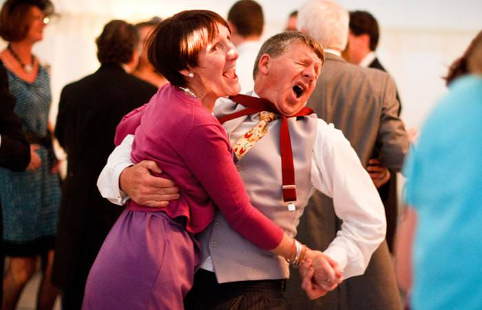 Wedding Photograph Dancing
