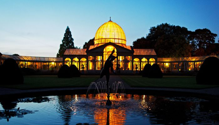 Wedding Photograph of Great Conservatory, Syon Park