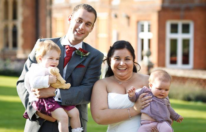 Photograph Wedding Bride and Groom at Wotton House in Surrey