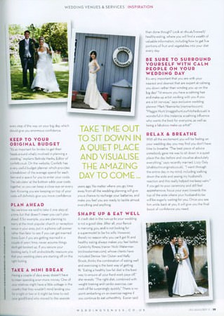 Douglas Wedding Photographs in Magazine 2011