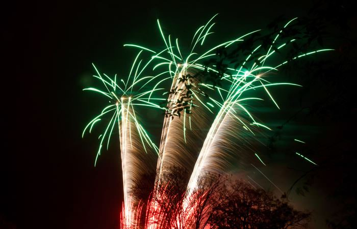Photograph Fireworks Great Fosters