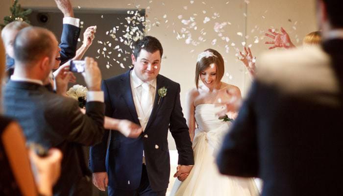 Wedding Photograph at the Bingham Hotel, Richmond, London