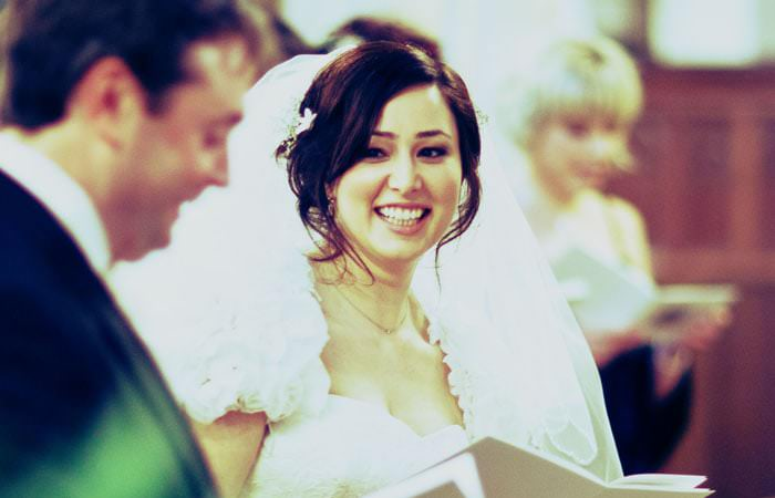 Photograph Bride Great Fosters, Windsor