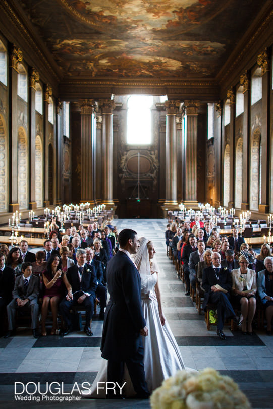 Wedding Photograph Speeches at The Painted Hall London, Greenwich ceremony