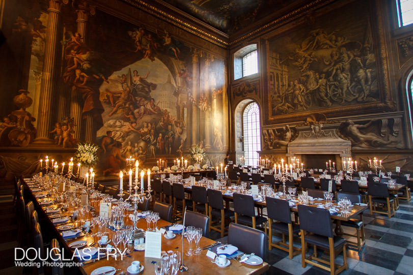 Wedding Photograph Speeches at The Painted Hall London, Greenwich
