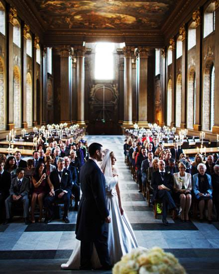Wedding Photograph The Painted Hall London