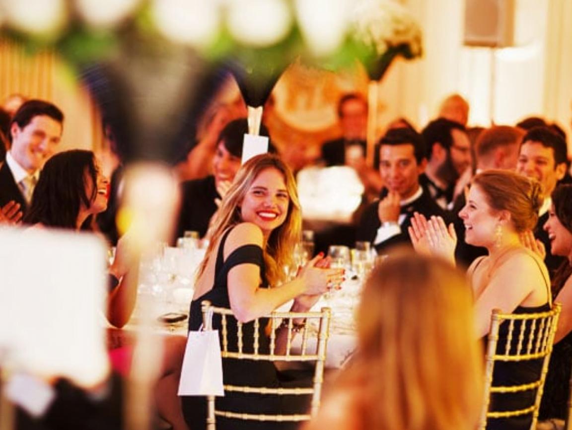 wedding photography of reception at mandarin oriental in London