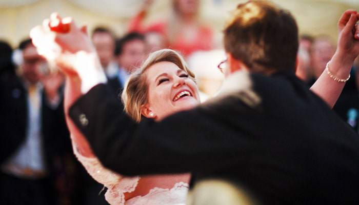 Dancing Wedding Photograph
