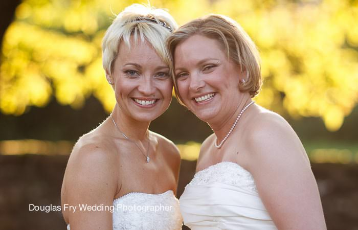 Photograph of brides in West Sussex