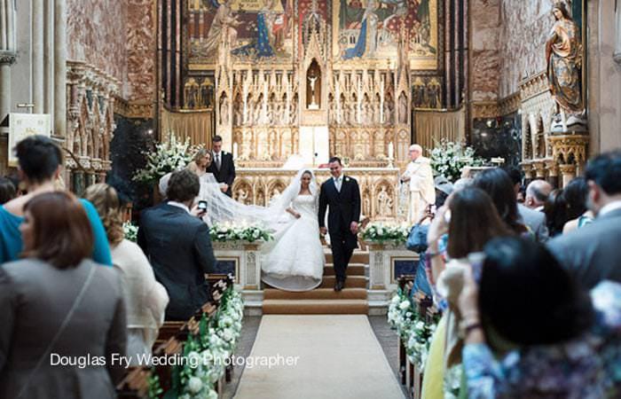 Wedding Photograph Farm Street Church London