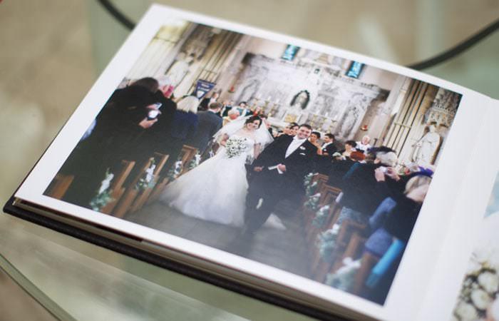 Jorgensen Wedding Album - Church