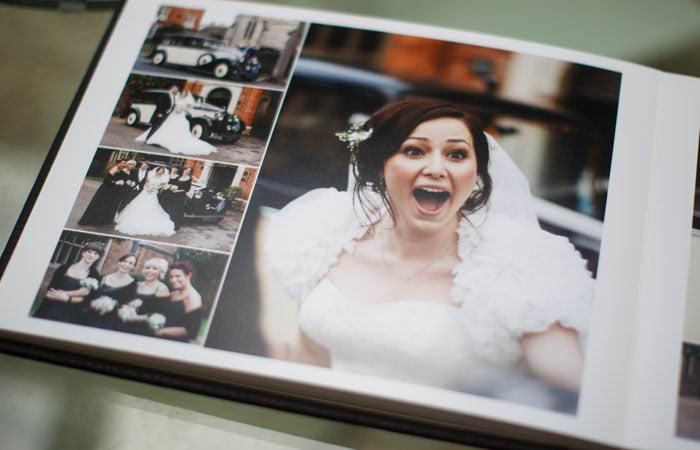Jorgensen Wedding Album - Bride