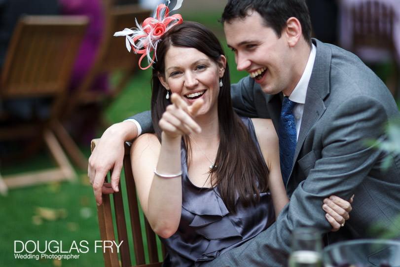 Guests at Grays Inn wedding photographer
