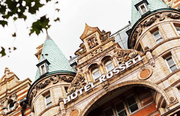 Hotel Russel London Wedding Photograph