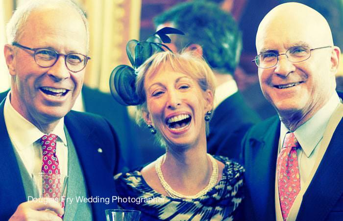 Guests at Wedding at The Royal Hospital, Chelsea, London