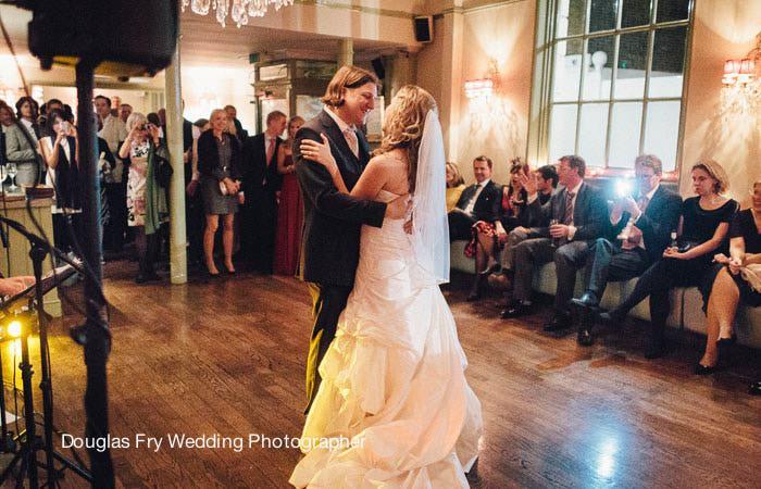 Wedding Photograph Dancing Restaurant Chelsea, London