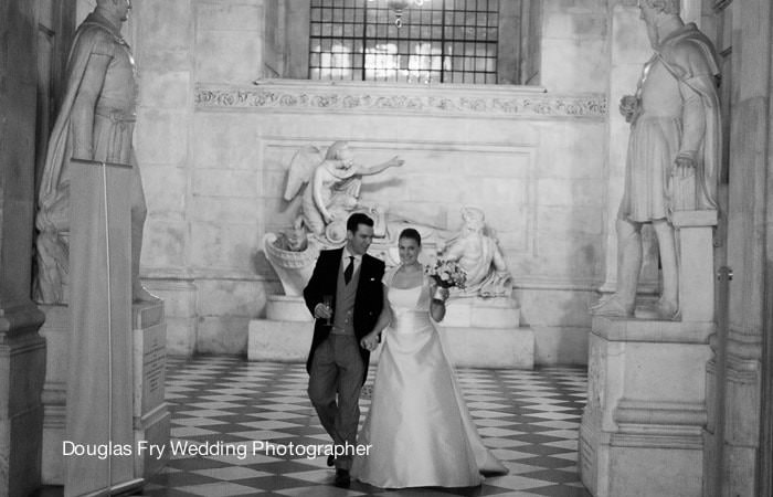 Photograph of Wedding at St Paul's Cathedral