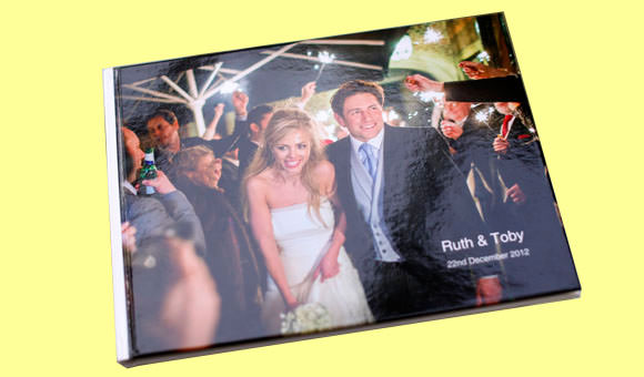New wedding book of photographs