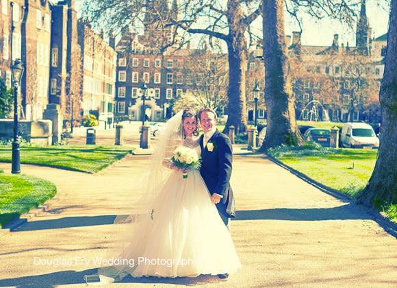 Wedding Photographer St Bride's London