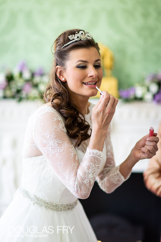 wedding photograph getting ready in london