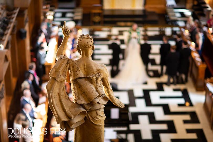 Wedding Photographer St Brides Church London