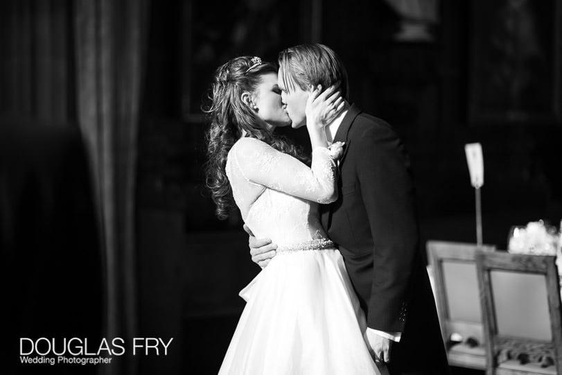 Wedding Photographer Lincolns Inn London - kissing