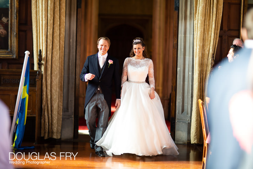 Wedding Photographer Lincolns Inn London - entering reception