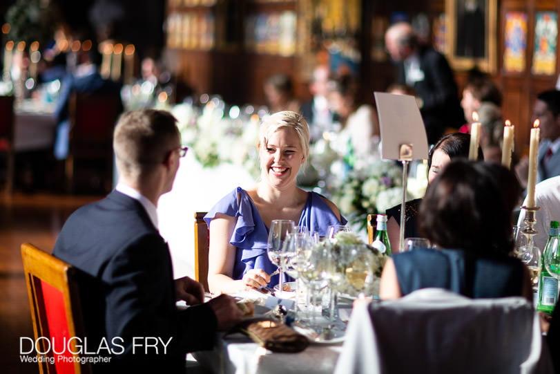Wedding Photographer Lincolns Inn London - dinner
