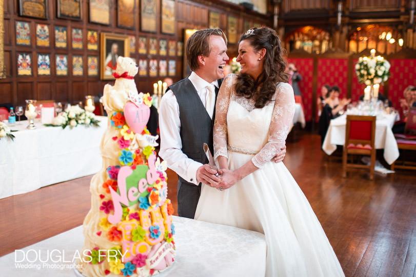 Wedding Photographer Lincolns Inn London - cake