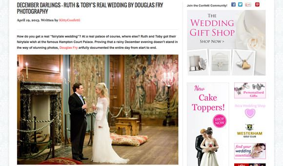 On line Wedding Feature