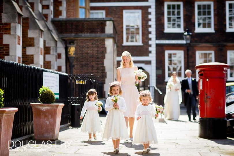 Wedding Photographer at Grays Inn London - Bridesmaids