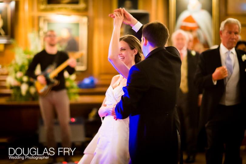 wedding photographer - dancing at Grays Inn