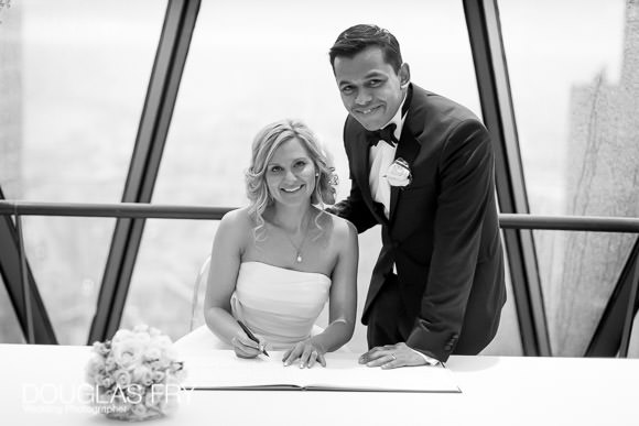 3 Best Things about The Gherkin - London Wedding Venue 1