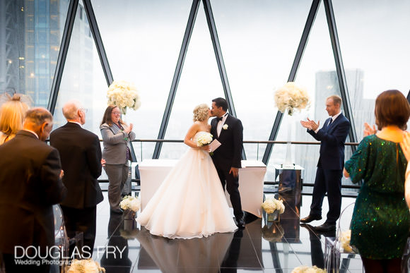 3 Best Things about The Gherkin - London Wedding Venue 3