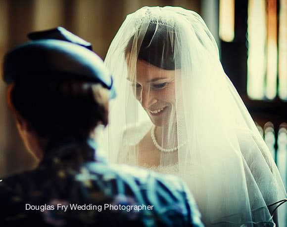 Wedding Photography Westminster Abbey - Bride preparing to enter
