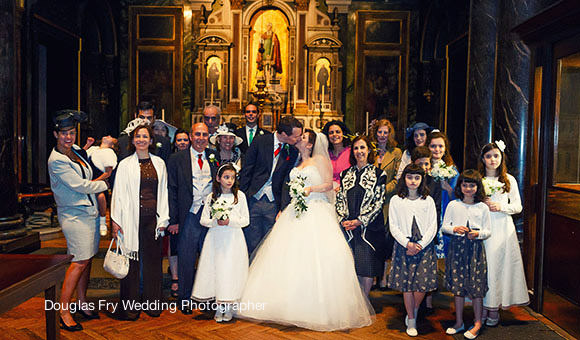 Wedding Photographer Farm Street Church