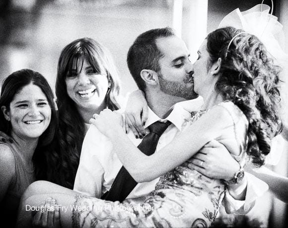 Wedding Photograph Kiss