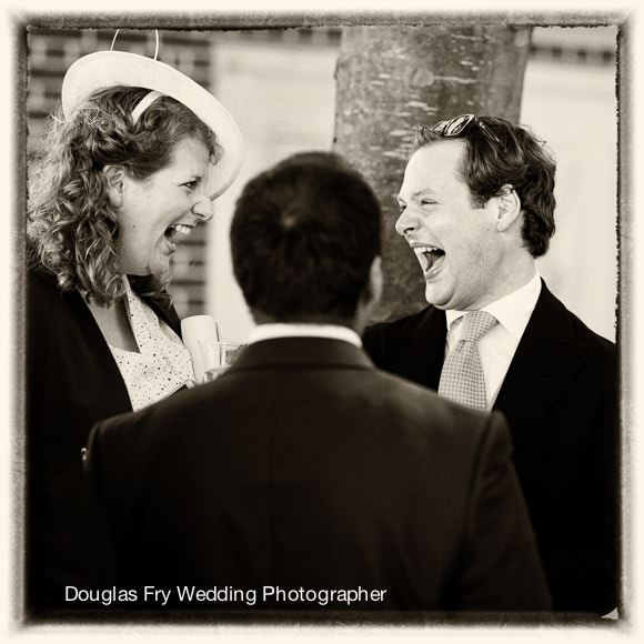 Wedding Photographer Inner Temple - Guests Laughing