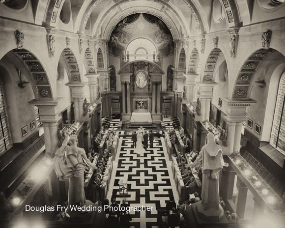 St Brides Church Wedding Photographs