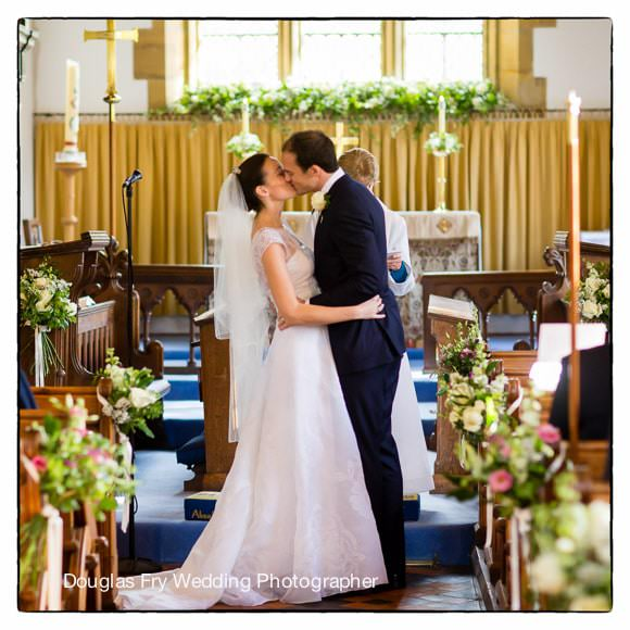 Wedding Photograph in Sevenoaks - Church Service