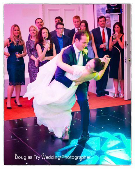 Wedding Photograph Dancing Carlton House Terrace
