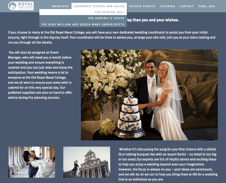Douglas Fry Wedding Photography at Old Royal Naval College in Greenwich