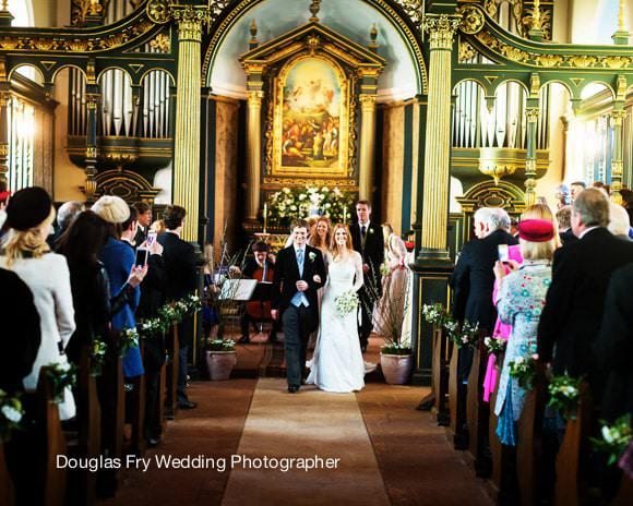 Wedding Service in Church