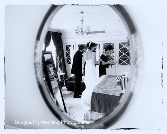 Bride Getting ready at Mandarin Oriental