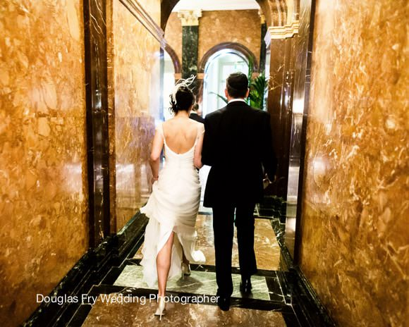 Wedding Photograph at Mandarin Oriental - Bride and Groom