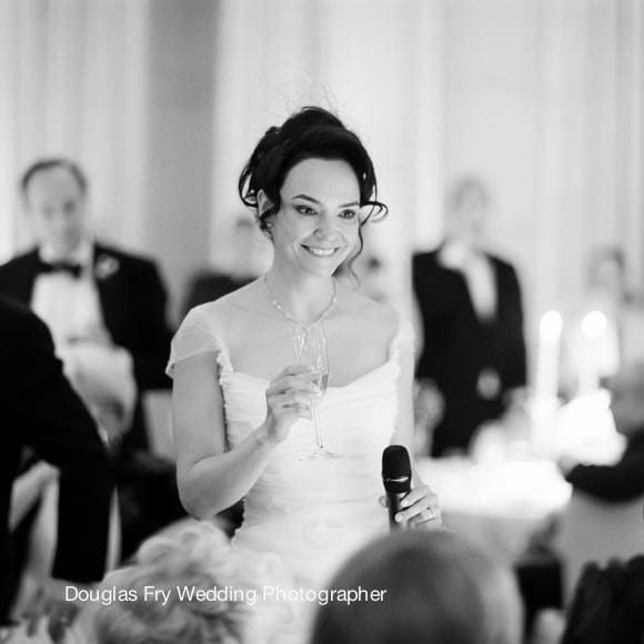 Wedding Photograph Speeches at Mandarin