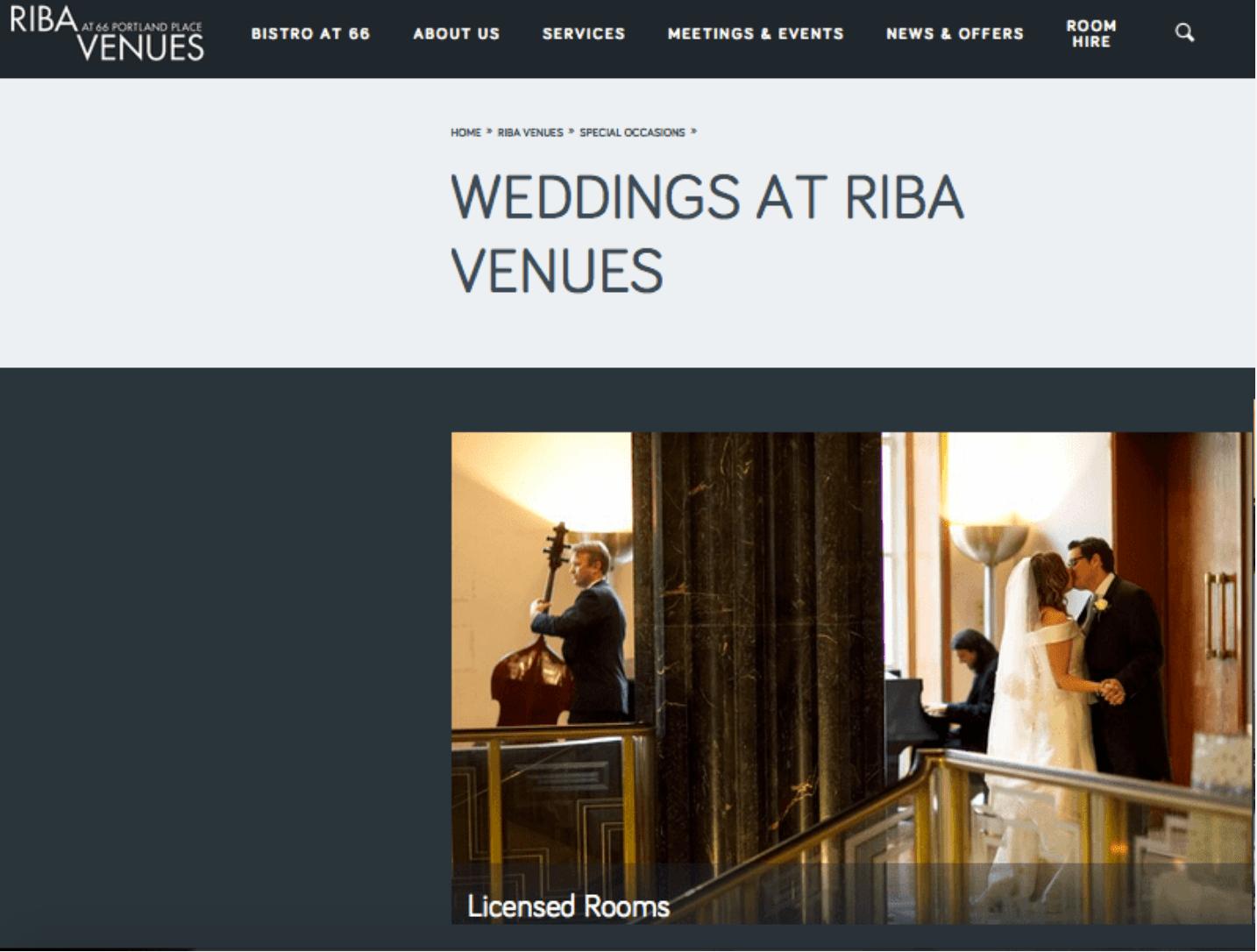 RIBA website photograph