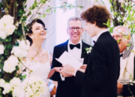 wedding ceremony at Mandarin Oriental in London